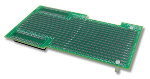2 Layer Prototyping Board for C5000/C6000 TI Systems